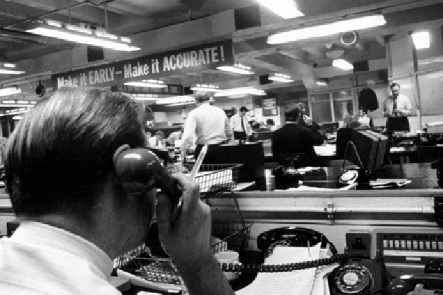 The Express: inside the newsroom in the 60s