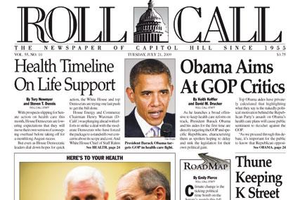 Roll Call: Washington title