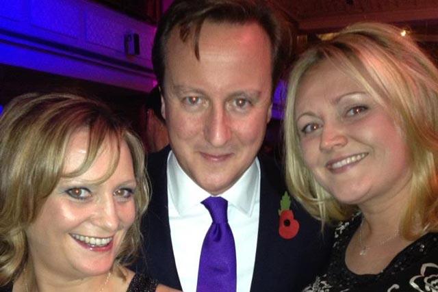 Pride of Britain: two born leaders...and David Cameron