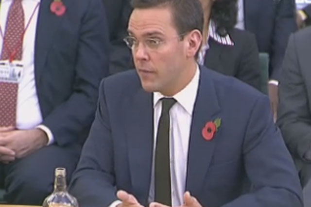 James Murdoch: re-elected to BskyB board