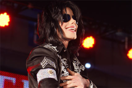 Michael Jackson: taking entire ad slot on ITV1