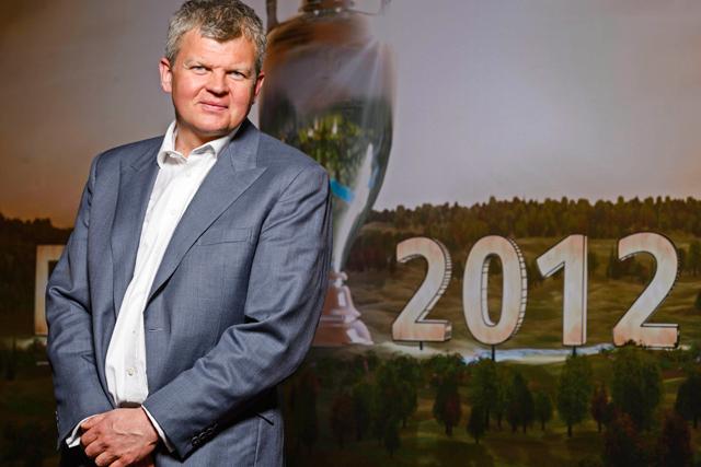 Adrian Chiles: ITV1's Euro 2012 host