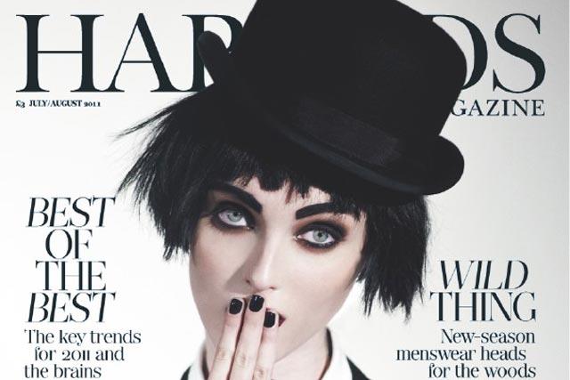 Harrods Magazine: luxury department store launches Harrods Media division