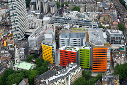 Mindshare's new offices in Central Saint Giles