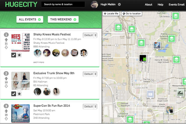 Hugecity: Time Out acquires the crowd-sourced event guide