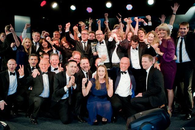 ITV winning at the Media Week Awards 2013