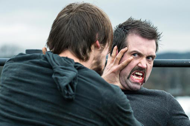 Hollyoaks: was censured for this violent fight scene