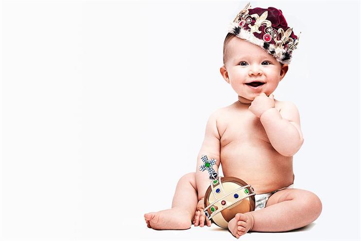 Royal baby: The Sun's tactical ad congratulating the royal couple