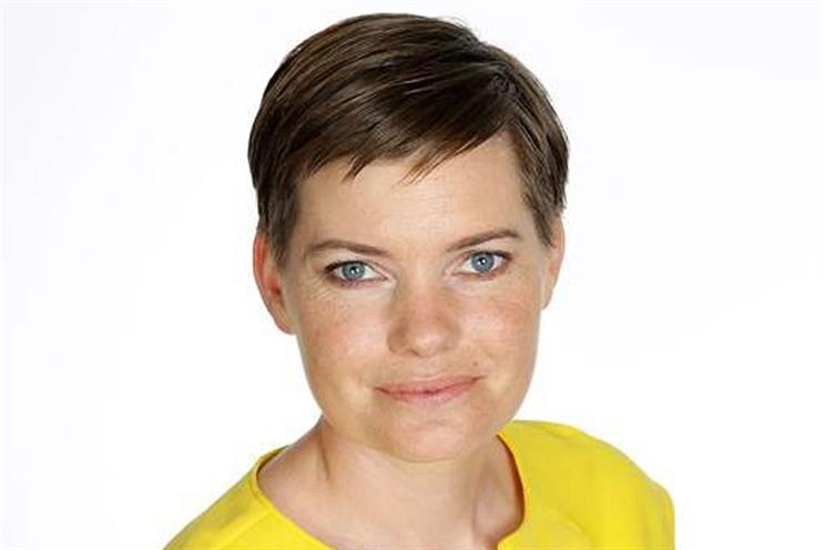 Zoe Harris: the group marketing director at Trinity Mirror