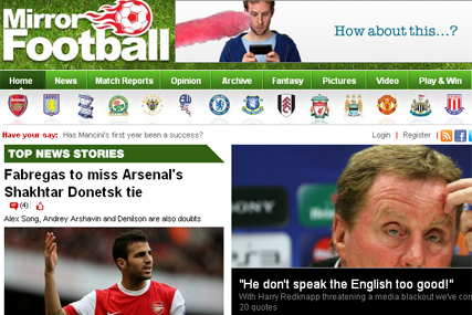 Mirror Football: signs deal with Leiki UK