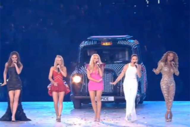 Spice Girls: group reunited to take part in the closing ceremony