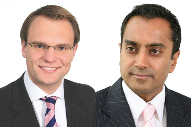 Adam Rendle and Niri Shan, media lawyers, Taylor Wessing LLP