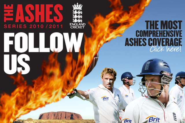 ECB: 'follow us' Ashes camapign