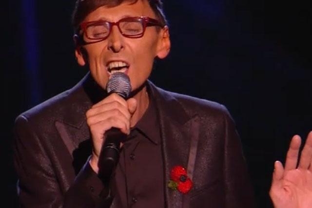 X Factor: Johnny Robinson on Sunday's show