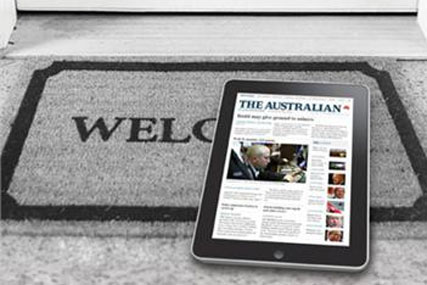 The Australian: iPad app sold A$1m worth of advertising at launch