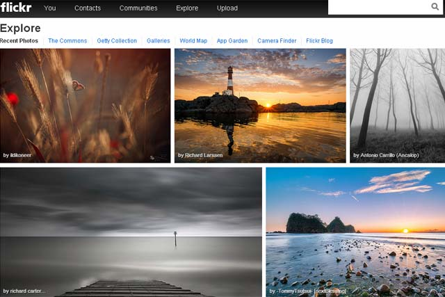 Flickr: Yahoo unveils the site's new look