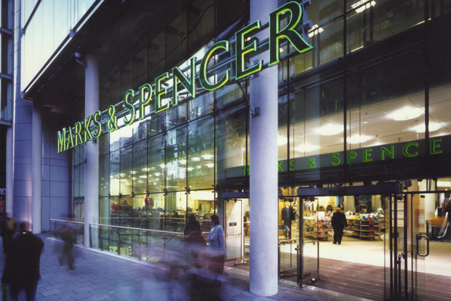 Marks & Spencer: The second most popular offline store