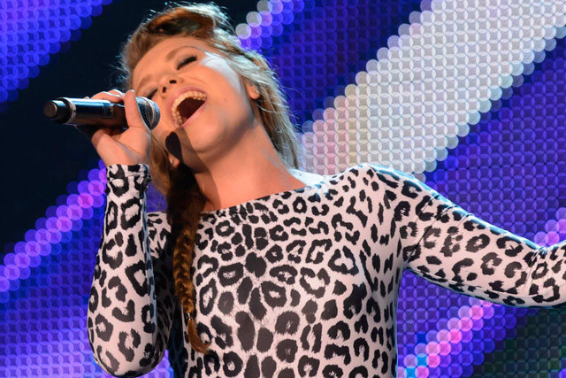 The X Factor: Ella makes it through boot camp