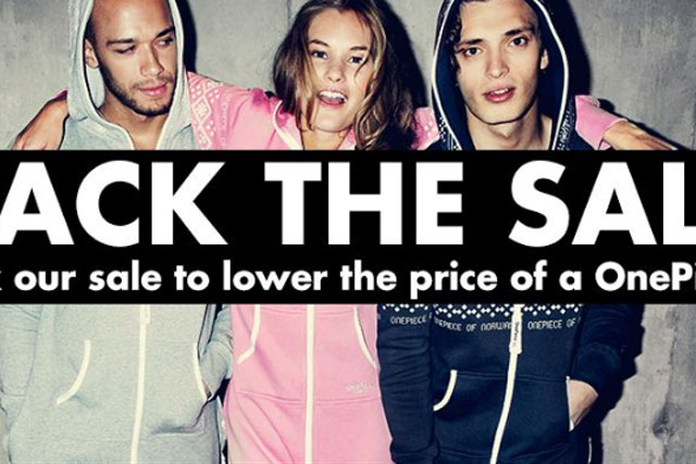 OnePiece: launches #HackTheSale campaign