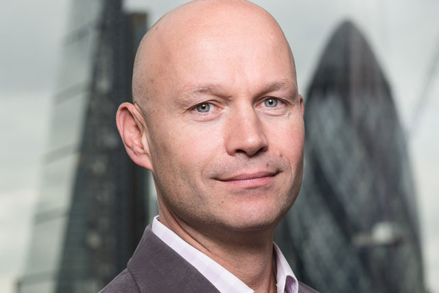 David Hobday: managing director of WorldPay