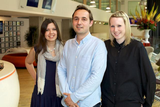 Grey London: welcomes planners Jo Hudson, Matt Tanter and Ruth Chadwick