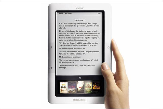 Barnes & Noble: Nook e-reader