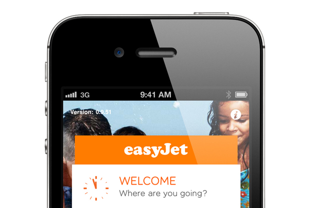 easyJet: launching mobile app