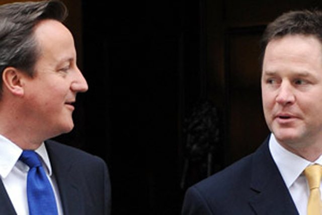 Mid-Term Review: launched by David Cameron and Nick Clegg