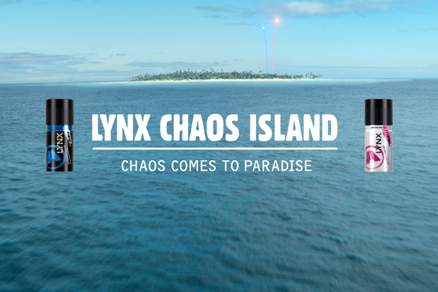 Lynx: offering consumers the chance to visit Chaos Island