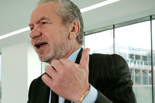 The Alan Sugar school of marketing is past its sell-by date