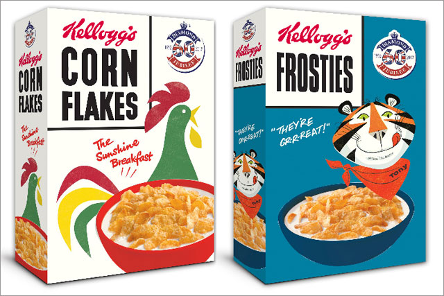 Kellogg's: unveils Jubilee-themed cereal boxes