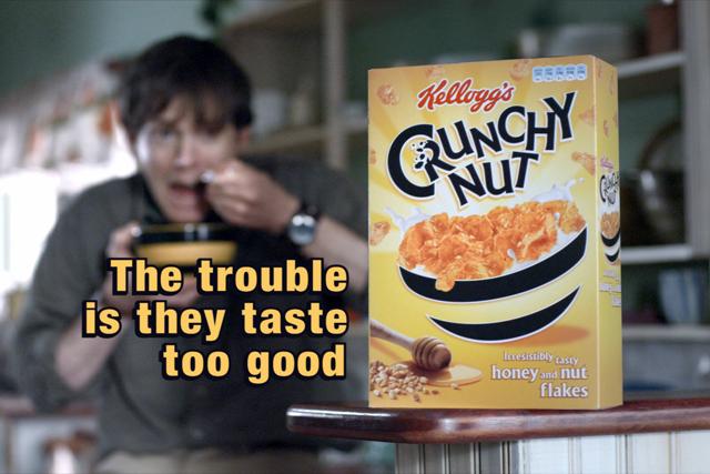 Crunchy Nut: sales down