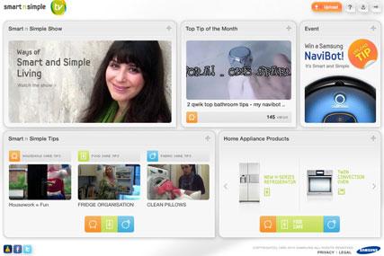 Smartnsimple: dedicated Samsung site screens housekeeping tips