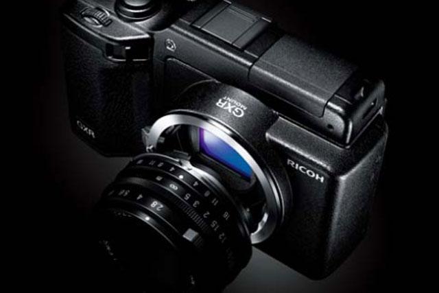 Ricoh GXR: readies camera push