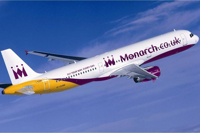Monarch: airline unveils its biggest rebrand for seven years