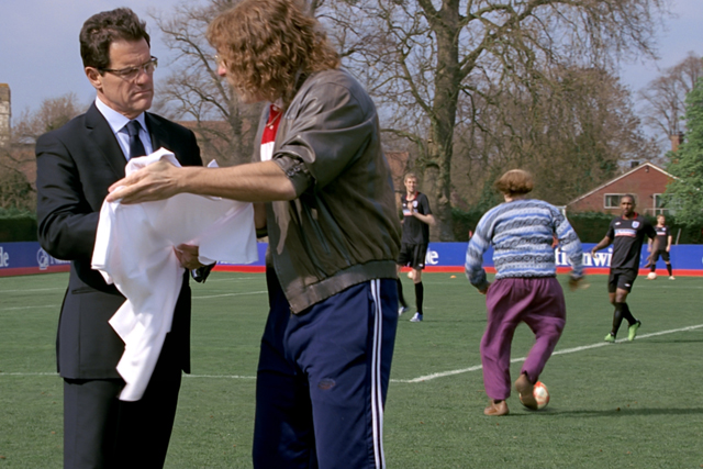 Nationwide: 2010 campaign with England manager Fabio Capello