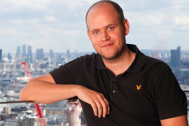 Daniel Ek: chief executive of Spotify