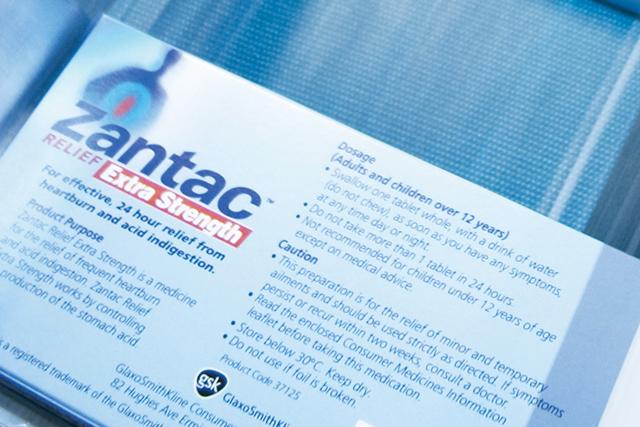 Zantac: GSK brand goes up for sale