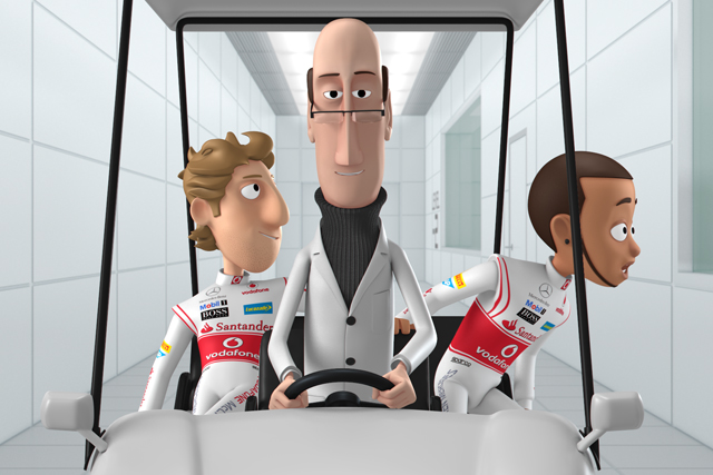 Tooned: McLaren animation starring Jenson Button and Lewis Hamilton