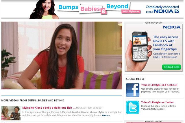 Bumps Babies and Beyond: Myleene Klass show secures Nokia deal