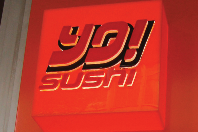 Yo! Sushi: new TV ad campaign