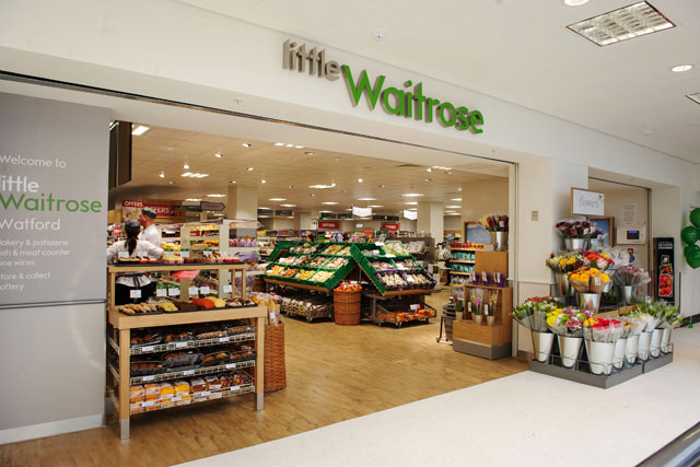Little Waitrose: first convenience store-style outlet opens at John Lewis in Watford
