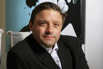 Shaun Gregory: managing director of O2 Media