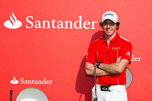 Santander: signs Rory McIlory as brand ambassador
