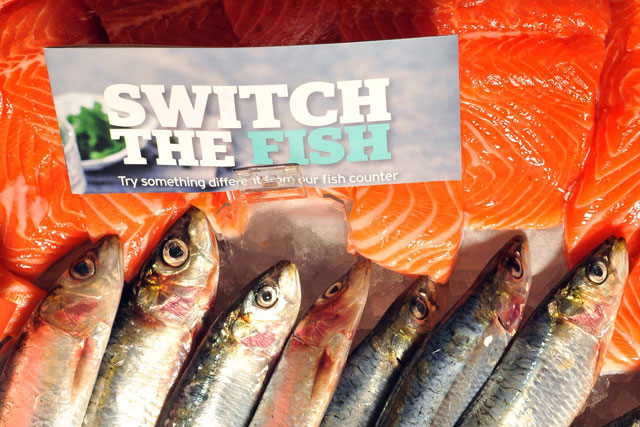 Sainsbury's: Switch The Fish initiative launches this week