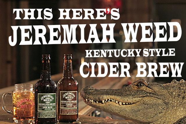Jeremiah Weed: Same ad, new endline