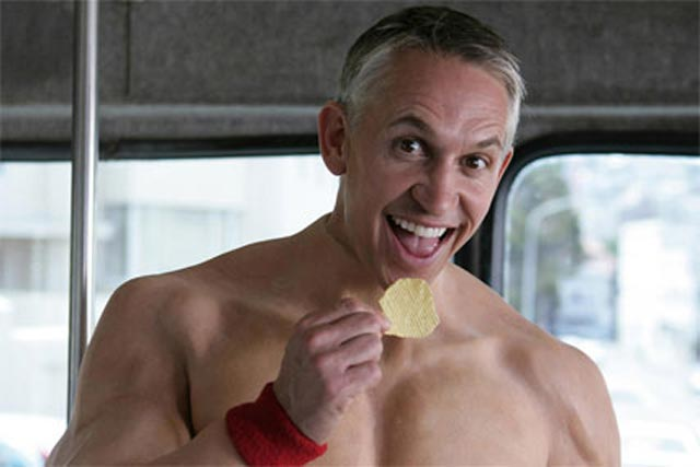 Gary Lineker in Baked Naked campaign by AMV BBDO