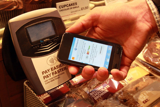 Everything Everywhere: launched contactless mobile payments service with Barclaycard in 2011