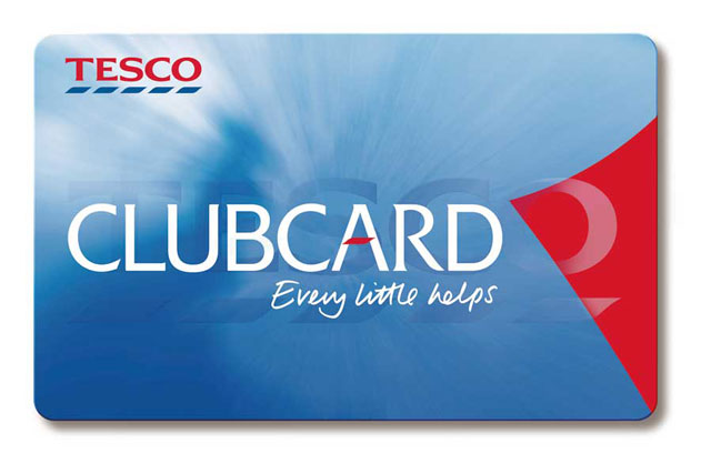 Tesco Clubcard: could be used to compile statistics for the Government