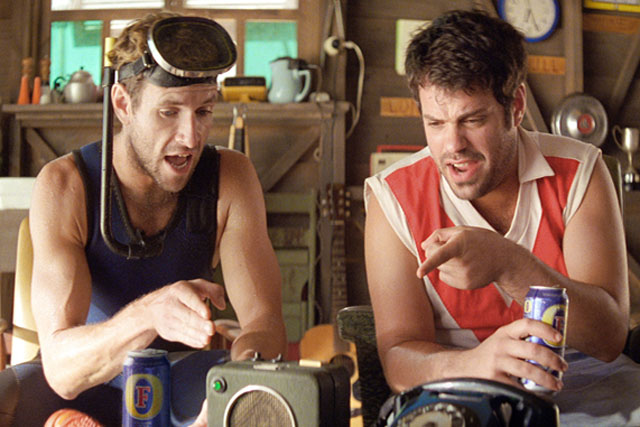 Fosters: Brad and Dan campaign by Adam & Eve